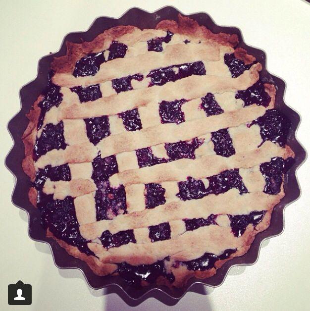 Delicious blueberry pie ☺️