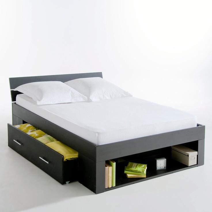 ensemble lit tout en un pin massif yreka autre la redoute with lit mezzanine la redoute. Black Bedroom Furniture Sets. Home Design Ideas