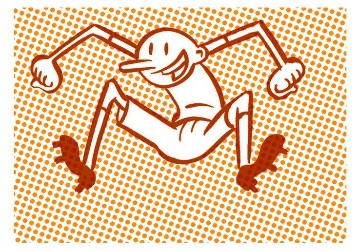 Thilo Rothacker: Yippiee | Die Bundesligasaison beginnt wieder. Veröffentlicht in der Frankfurter Allgemeinen Sonntagszeitung. | Format: 60 x 42 cm, ohne Rahmen | Auflage: 95 Stück, signiert | erhältlich bei www.kulstuecke.com