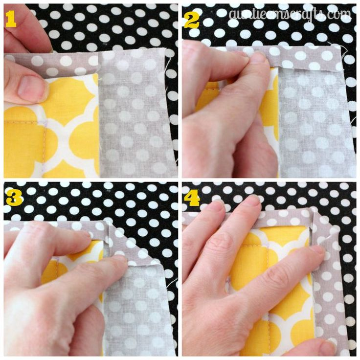 Grab any two fat quarters and some scrap batting. In about an hour, you can make yourself a large hot pad for your hot foods. Tutorial available on AuntieEmsCrafts.com