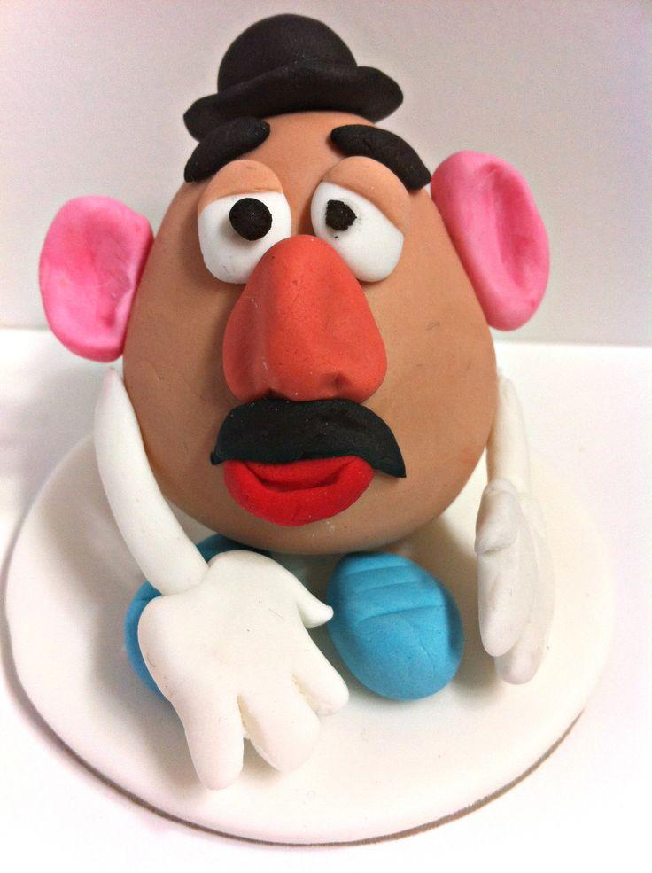 Mr.Potato Head cake topper.