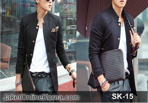 Blazer Jaket Korea SK-15