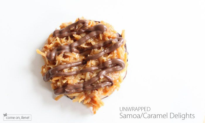 Homemade Girl Scout Samoa Cookies (she: Ilene) - Or so she says...