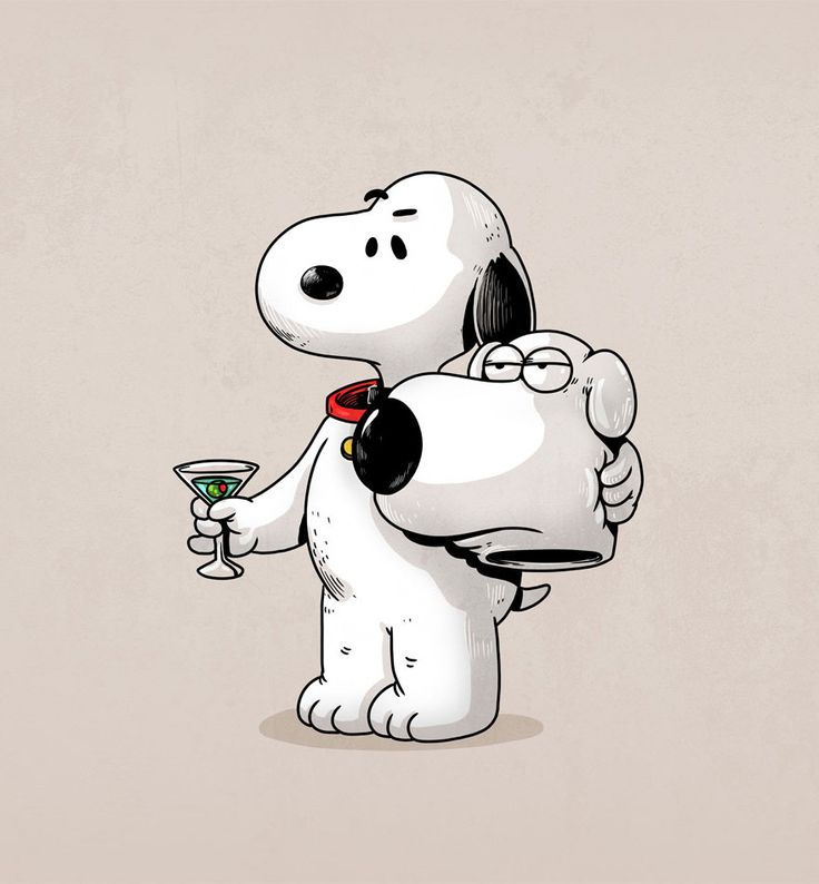 Snoopy a'la Brian H. Griffin Icons Unmasked