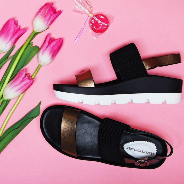 Готовимся к теплым солнечным дням!☀️Удобные босоножки на тракторной подошве – идеальный вариант для пляжного отдыха и долгих прогулок по городу!  Арт:IK56-093207/8 #respectshoes #iloverespect #shoes #ss17 #shopping #обувьреспект #шоппинг #весна #веснавrespectshoes