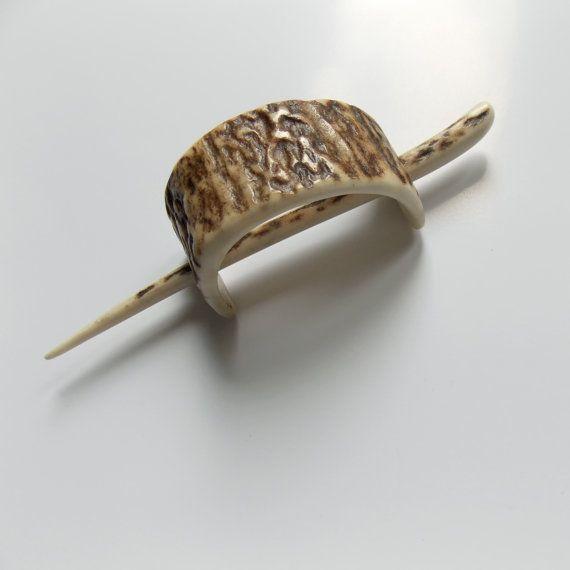 Slide capelli Fermacapelli corna di cervo Coppa di capelli