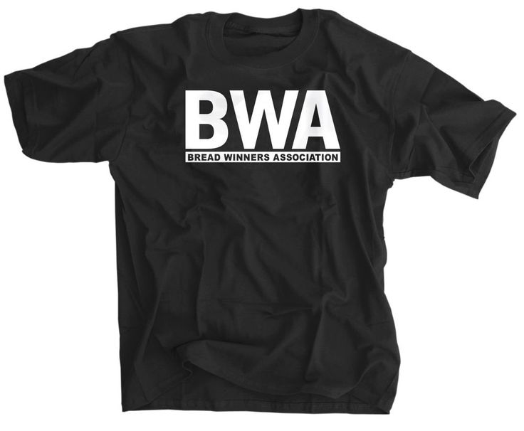 BWA Kevin Gates Bread Winners Association Shirt Hip Hop Black White NEW Tee #Hanes #BasicTee