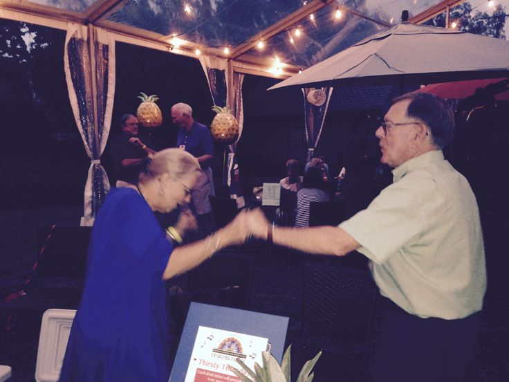 RSOL Members John and Brenda King dancing the night away at Thirsty Thursdays 9/15/16 event. Visit www.rsol.org for information about all of the events going on at the 2016 Designer House. Proceeds benefit the Richmond Symphony. #RSOL2016DH