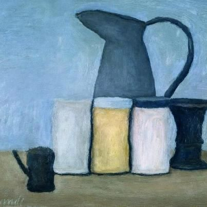 morandi - Shapes and the consideration of space makes his paintings almost a mystery.