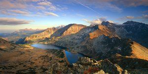 Fall in Tatry mountains