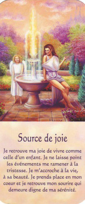 source de joie + texte