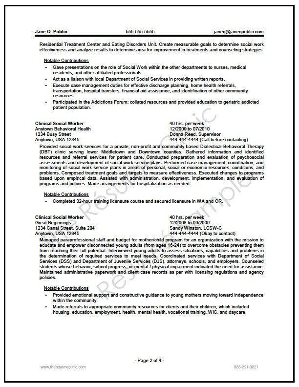Federal Social Worker Resume Writer Sample Neu Resume For Social