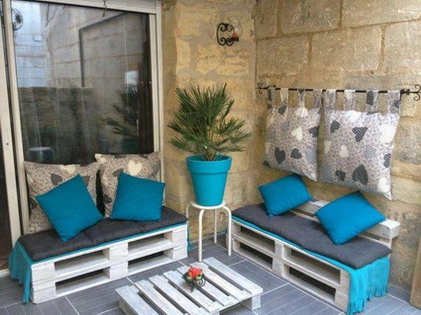 10 espacios decorados con palets de madera - Decoracion - EstiloyDeco