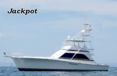 The Jackpot fishing boat Papagayo Costa Rica