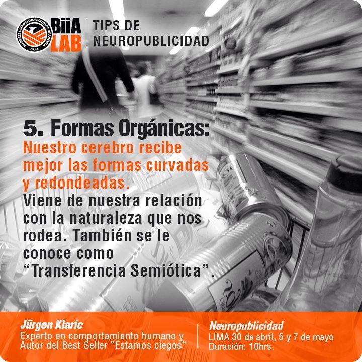 Quinto tips de #Neuropublicidad. #Neuromarketing