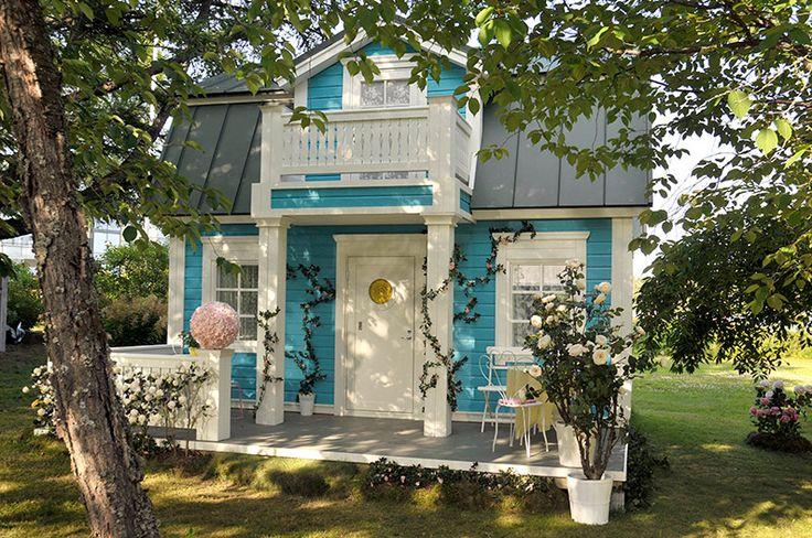 Talo Raunistulassa: Onnellin ja Annelin satupuutarha