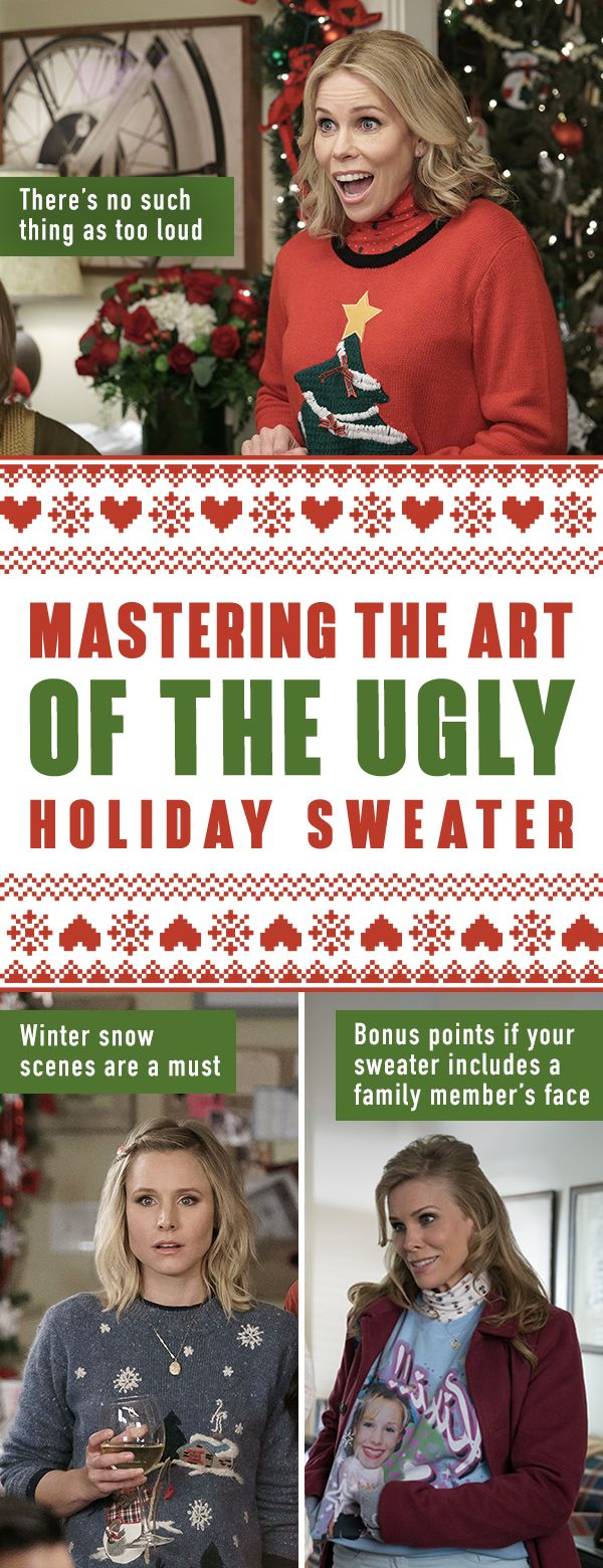 Need to pick a #winning ugly sweater for your holiday parties this season? Follow Kiki and Sandy's tips for picking the best one and don't miss #BadMomsXmas, in theaters November 1.