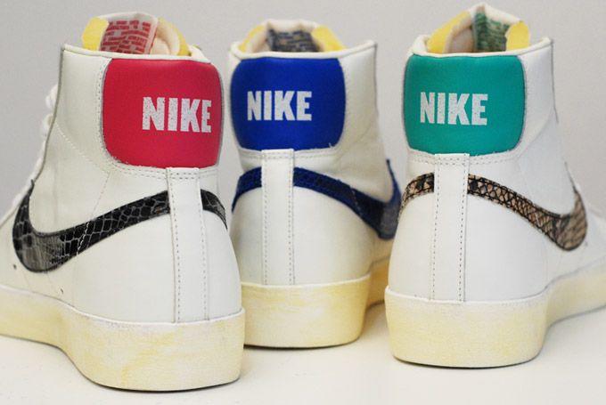 blazer-mid-77-snakeskin | Nike blazer, Nike blazer mid 77, Blazer ...