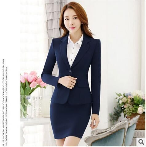 f0de82d698 Source Fashion formal wear business suit for women skirts blazer and skirt  set ladies formal skirt suit on m.alibaba.com