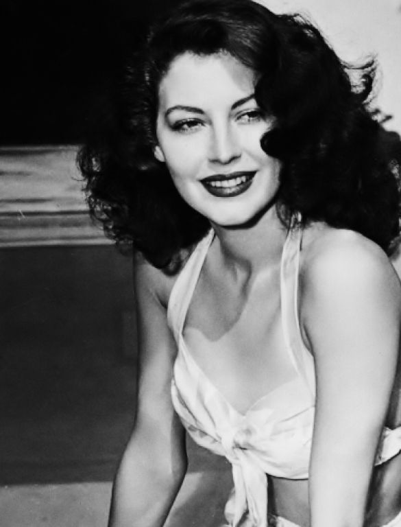 Ava Gardner - classic beauty. Good things come out of North Carolina