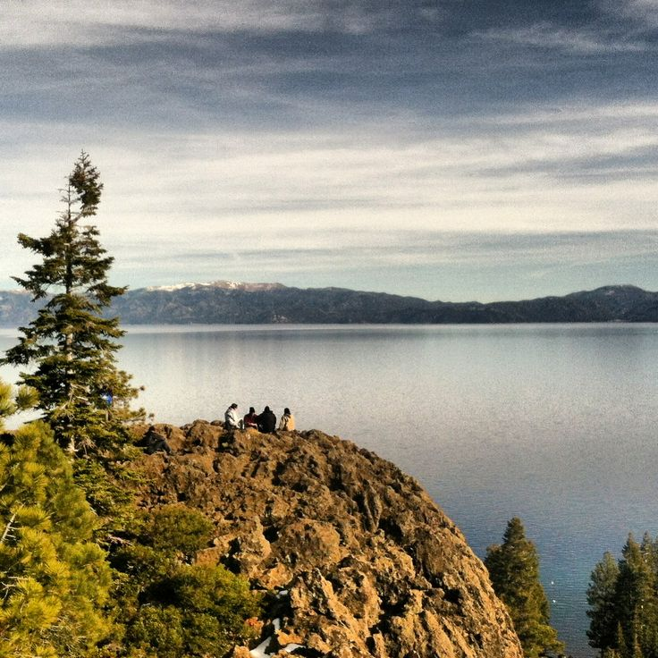 Beautiful West Shore of Lake Tahoe! Eagle Rock hike, on your way to the West Shore for a drink lakeside!