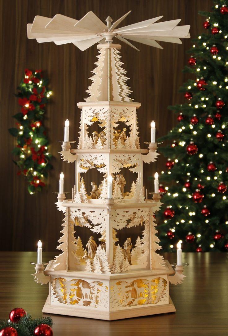 elektrische weihnachtspyramide tilgner pyramide. Black Bedroom Furniture Sets. Home Design Ideas