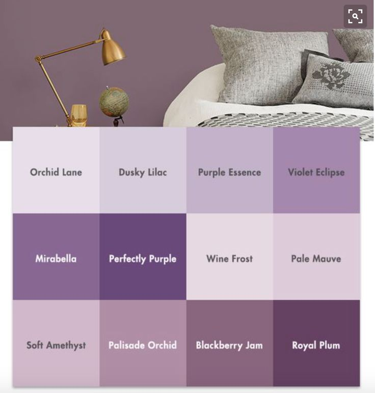 68 Best Images About L Shades Of Purple Paint Colours L On