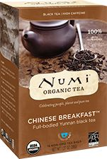A package of Numi Organic Tea - Chinese Breakfast™