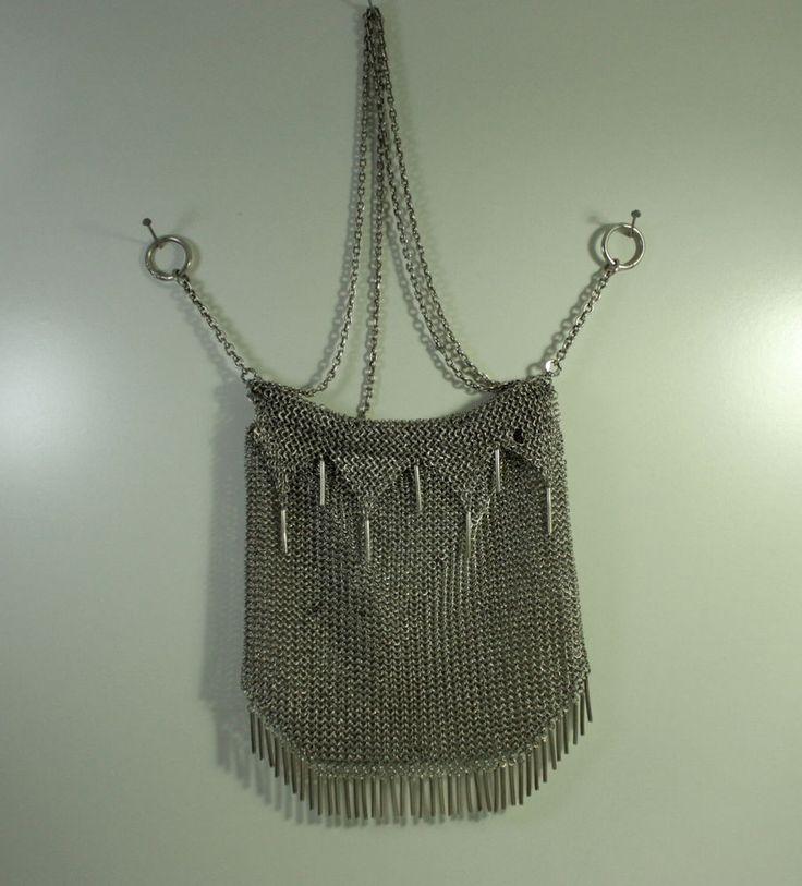 Seltene Russische Ladies Purse Abend Tasche Silber 84 Kokoshnik Don/Odessa 1908!