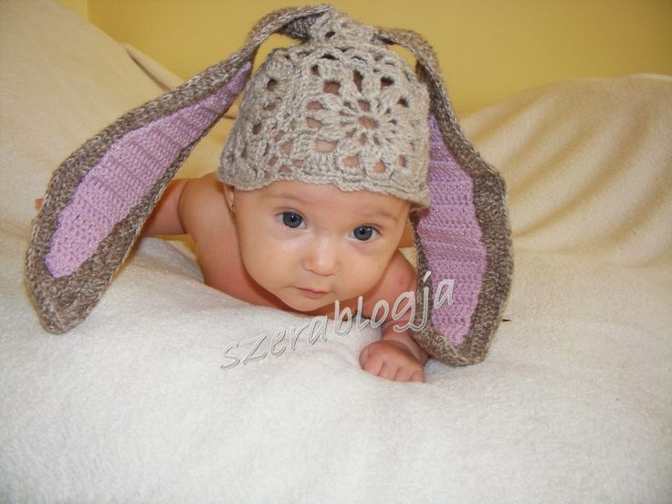Szera blogja: Nyuszi öltözék a kislányomnak - Bunny outfit for my little girl