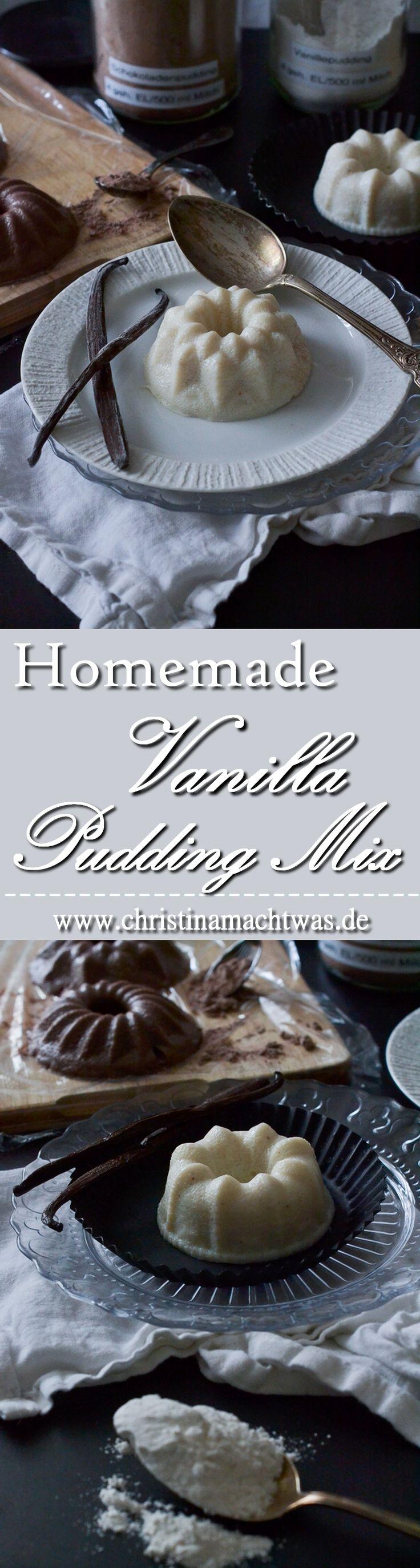 Puddingpulver war das einzige, was ich bisher gekauft habe. Aber selbstgemacht ist's natürlich am Besten und so bekommt ihr hier von mir das Rezept für selbstgemachtes Vanillepuddingpulver! --- Homemade Vanilla pudding mix, without any chemicals - just pure vanilla taste.