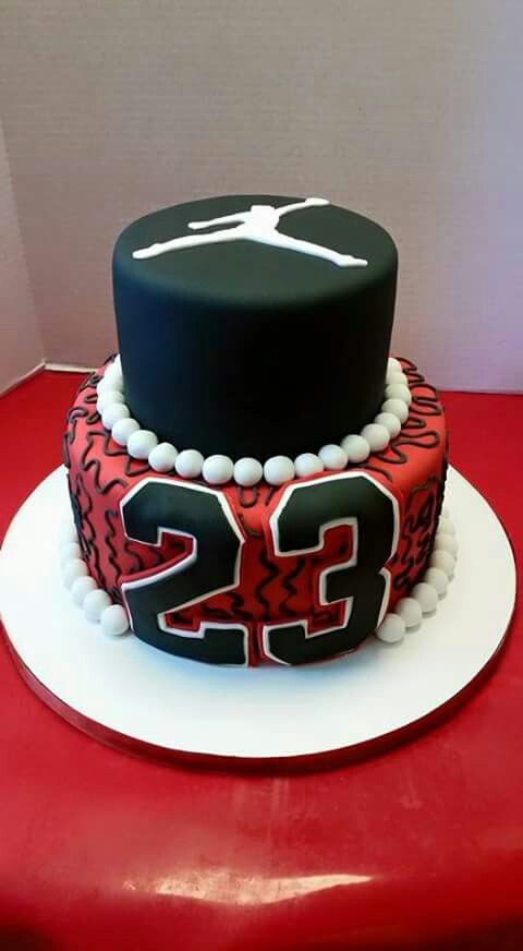 Michael Jordan Basketball Birthday Cake Cake