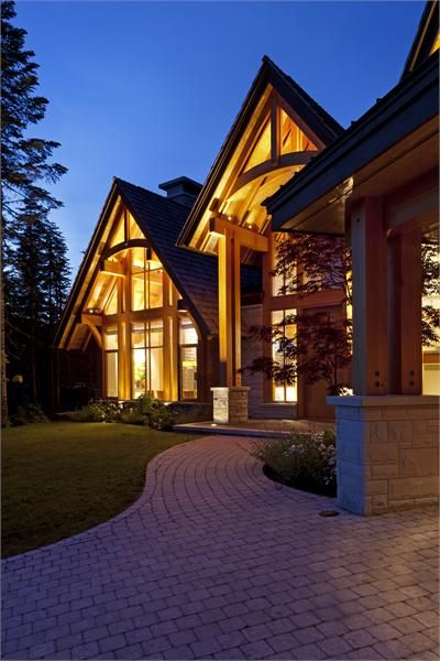 Good 259 Best Wood U0026 Stone Houses Images On Pinterest | Future House,  Architecture And Exterior Homes Gallery