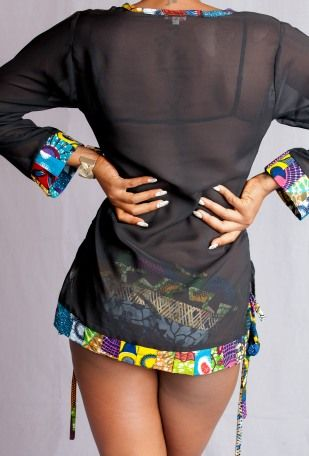 Aya Morrison collection Provocateur   Pagnifik ~African Prints, African women dresses, African fashion styles, african clothing