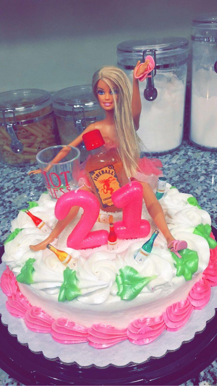 My 21st Birthday Cake Drunkbarbie Bigboy S Day