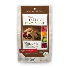 Nature's Variety Instinct Raw Market Beef Nuggets 2oz