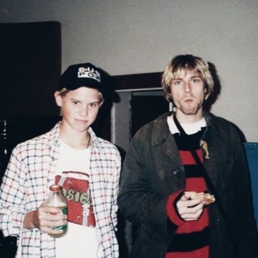 Fan and kurt cobain Nirvana