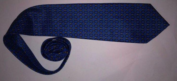 """Giorgio Armani -  Men's Blue  Tie - 3 3/4"""" - 100% Silk - Italy #GiorgioArmani #Tie"""