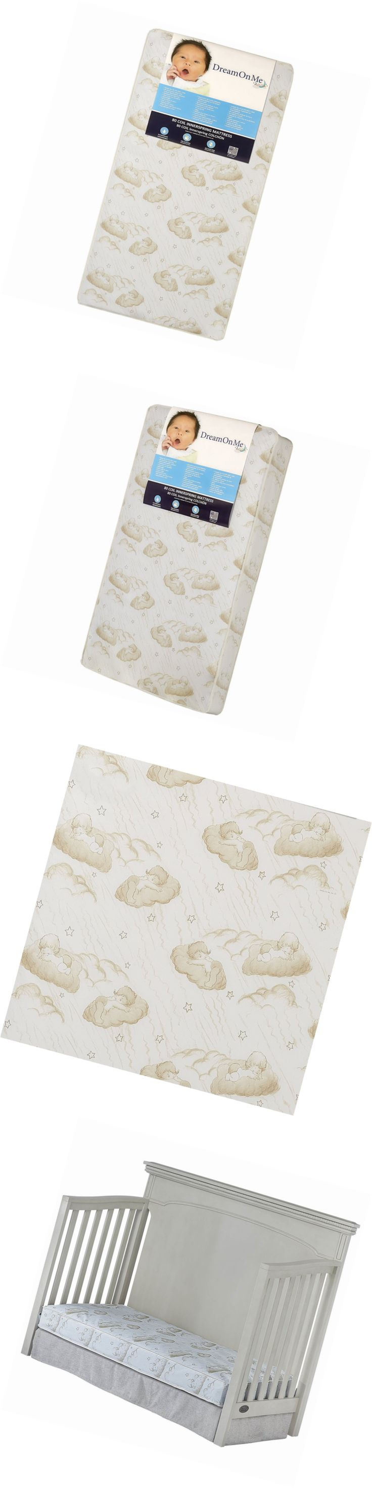 Crib Mattresses 117035: Dream On Me Spring Crib And Toddler Bed Mattress, Twilight -> BUY IT NOW ONLY: $44.99 on eBay!