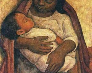 Delfina and Dimas - Diego Rivera