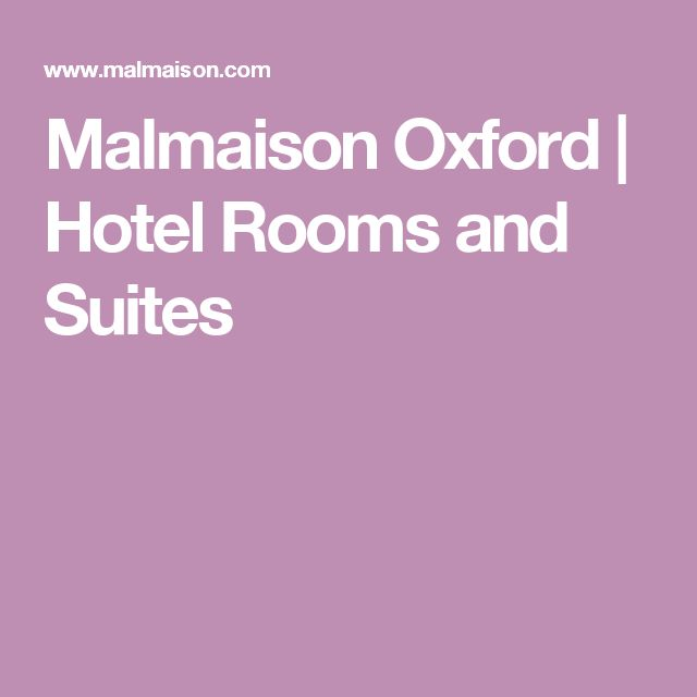 Malmaison Oxford | Hotel Rooms and Suites