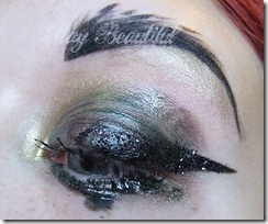 Deliberately ugly makeup look with Maybelline and Illamasqua