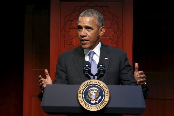 """At Baltimore mosque, President Obama encourages U.S. Muslims: """"You fit in here"""" #Politics #iNewsPhoto"""