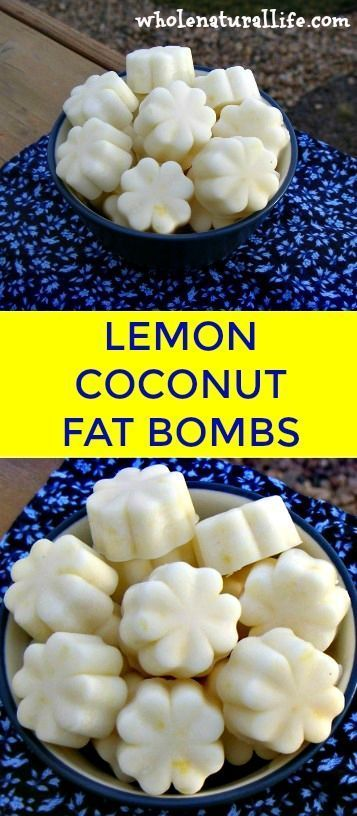 Coconut oil fat bombs   Lemon fat bombs   Low carb fat bombs   Easy fat bombs