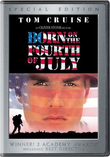 Born on the Fourth of July is a 1989 American film adaptation of the best selling autobiography of the same name by Vietnam War veteran Ron Kovic. Tom Cruise plays Kovic, in a performance that earned him his first Academy Award nomination.