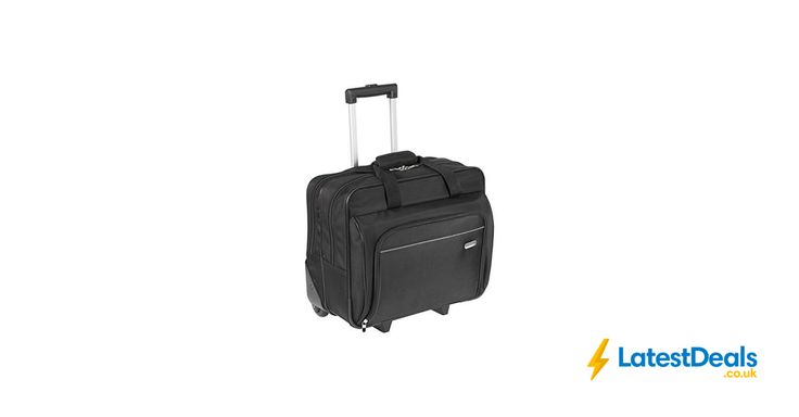 Targus Executive Laptop Roller Bag on Wheels Fits Laptops, 15-16 Inches, £27.99 at Amazon UK