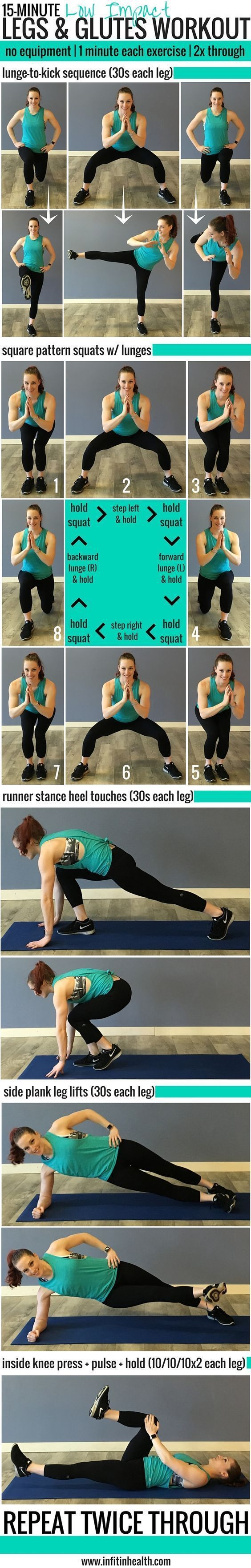 15-Minute Legs and Glutes Workout.