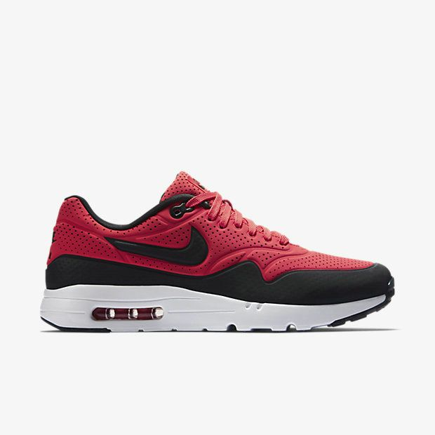 outlet store 1e39f bcc45 Popular Nike Air Max 1 Ultra Moire 705297 601 Red Black White Nike Air Max 1  On Line