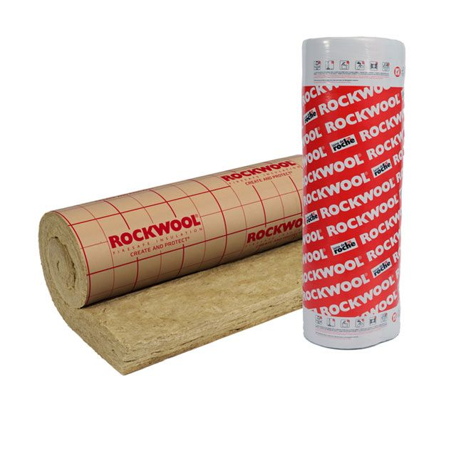 Rouleau Laine De Roche Rockwool Roulrock Kraft 1 2 X 2 4 M Ep 200 Mm R 5 1 Km W Vendu Au Rouleau Avec Images Laine De Roche Laine Rouleaux