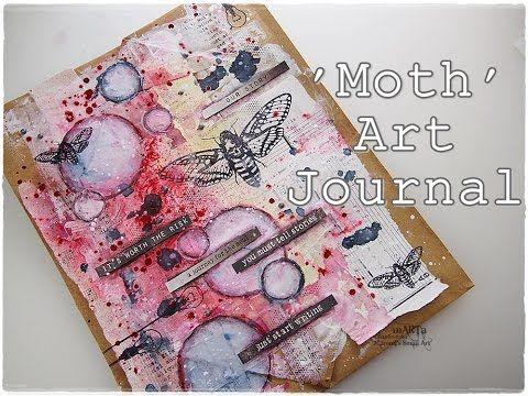 Art Journal Page Process